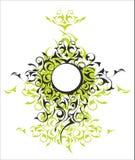 Ornamental design medalion Royalty Free Stock Photo