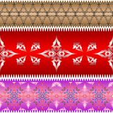 Ornamental design ribbons Stock Image