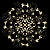 Ornamental design, vector Stock Images