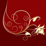 Ornamental design, vector Stock Photography