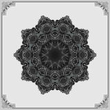Ornamental design, vintage arabesques mandala/rosette Stock Photography