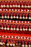 Ornamental designs. Decorative design from Kerala, India found on various religious and cultural elements Stock Photography