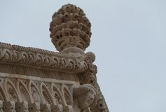 An ornamental detail of the St Marco in Korcula Royalty Free Stock Photos