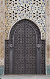 Ornamental door Stock Image