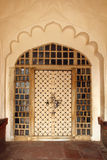 Ornamental door in India Royalty Free Stock Images