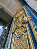 Ornamental door of the Saint-Louis-des-Invalides Cathedral Royalty Free Stock Images