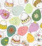 Ornamental Easter eggs Stock Photo