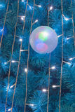 Ornamental electric light ball Stock Image