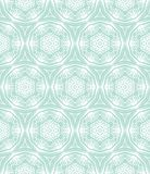 Ornamental, elegant hand drawn pattern Royalty Free Stock Photography