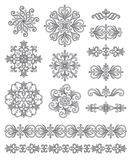 Ornamental elements Royalty Free Stock Image