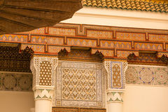 Ornamental elements in Arab architecture Stock Photography