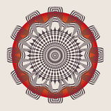 Ornamental esoteric mandala Stock Photography