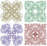 Ornamental ethnicity pattern Royalty Free Stock Image