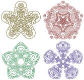 Ornamental ethnicity pattern Royalty Free Stock Photos