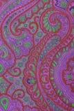 Ornamental fabric texture Royalty Free Stock Photo