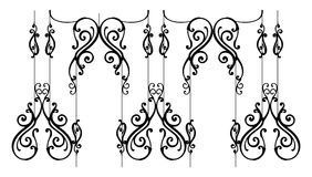 Ornamental-fence Royalty Free Stock Photography
