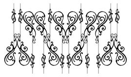 Ornamental-fence Royalty Free Stock Image