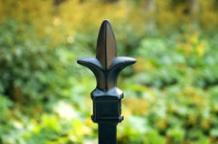ORNAMENTAL FENCE FINIAL Stock Images