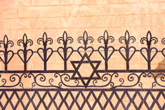 Ornamental fence Stock Image