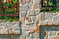 Ornamental fence 13 Stock Photo