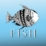 Ornamental fish Royalty Free Stock Images