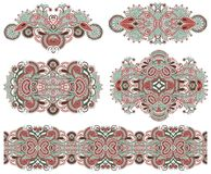 Ornamental floral adornment for your design Royalty Free Stock Images