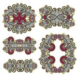 Ornamental floral adornment for your design Stock Image