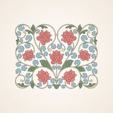 Ornamental floral element for design in China Royalty Free Stock Photos