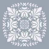 Ornamental floral element for design Stock Photography