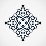 Ornamental floral element for design Stock Images