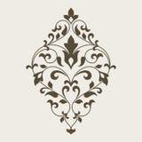 Ornamental floral element for design. Stock Image