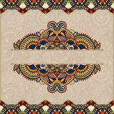 Ornamental floral folkloric background for Stock Photos