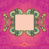 Ornamental floral pattern Stock Photography
