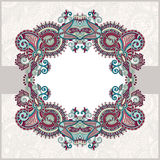 Ornamental floral pattern Royalty Free Stock Images