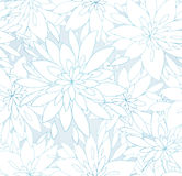 Ornamental floral seamless pattern. Abctract leaves and flowers. Decorative background Stock Images