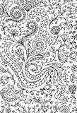 Ornamental floral seamless pattern for your design Royalty Free Stock Photography