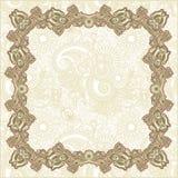 Ornamental floral vintage frame design Stock Photography