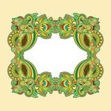Ornamental floral vintage frame design Royalty Free Stock Photography