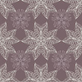 Ornamental flower lace pattern, Royalty Free Stock Image