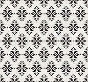 Ornamental flower victorian seamless pattern. Vector floral abstract texture. Vector Floral Ornamental Seamless Pattern. Geometric Flower Stylish Texture royalty free illustration