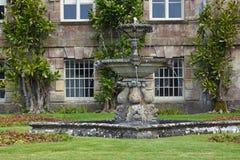Ornamental Fountain, Stourhead House, Stourton, Wiltshire, England Royalty Free Stock Photo