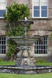 Ornamental Fountain, Stourhead House, Stourton, Wiltshire, England Royalty Free Stock Images