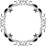 Ornamental frame Stock Images