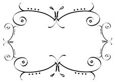 Ornamental frame Royalty Free Stock Images