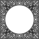 Ornamental frame. Black and white ornamental frame victorian style Royalty Free Stock Photos