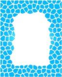 Ornamental frame. Ornamental frame of tiles. Isolated over white Stock Photo