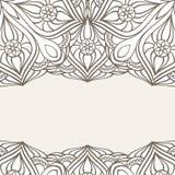 Ornamental frame. Abstract invitation card Stock Photos