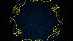 Ornamental Frame Background Royalty Free Stock Photo