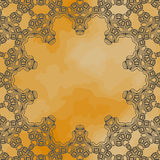Ornamental frame border with a lot of copyspace Royalty Free Stock Photos