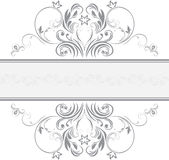 Ornamental frame for design Stock Images